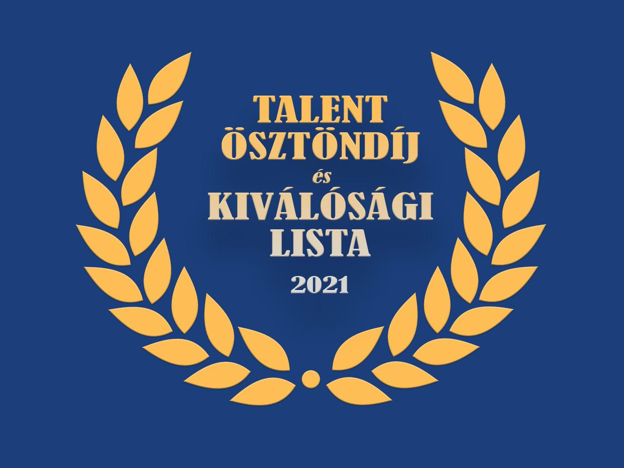 Már lehet pályázni az idei Talent ösztöndíjra!